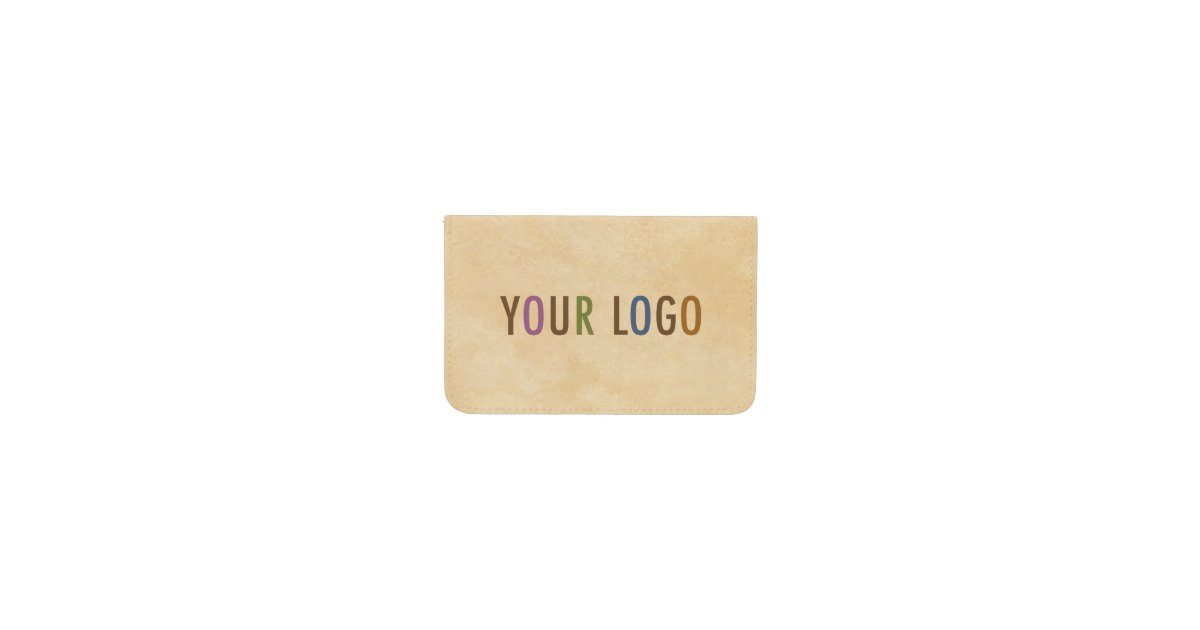 Vinyl custom business card wallet company logo zazzle colourmoves