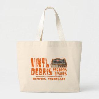 Vinyl Debris Records Jumbo Tote Bag
