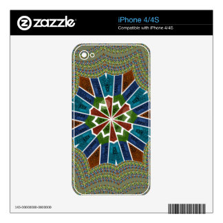 Vinyl Device Protection Skin Decals For The iPhone 4S