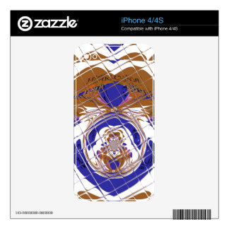Vinyl Device Protection Skin Decal For iPhone 4