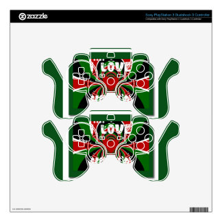 Vinyl Device Protection Skin Decal For PS3 Controller