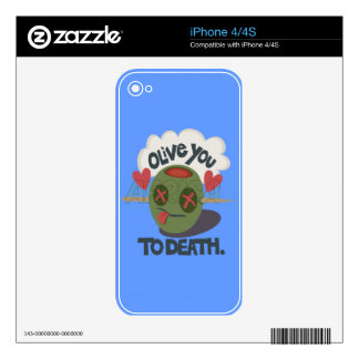 Vinyl Device Protection Skin Decals For The iPhone 4