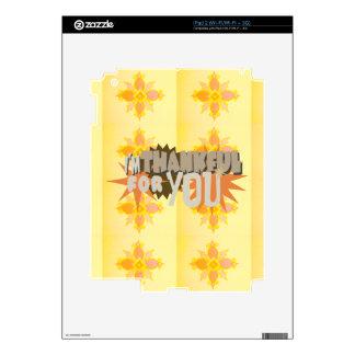 Vinyl Device Protection Skin iPad 2 Skins