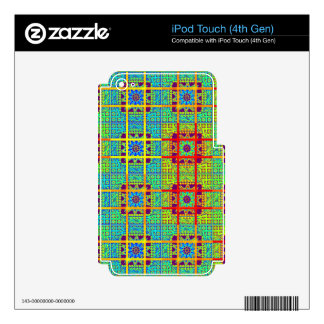 Vinyl Device Protection Skin iPod Touch 4G Skins