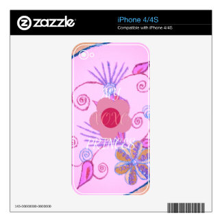 Vinyl Device Protection Skin Skin For iPhone 4S