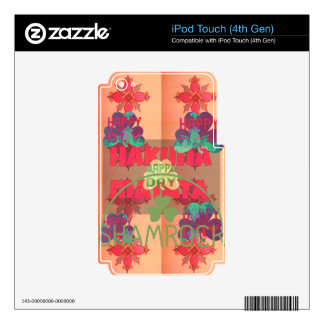 Vinyl Device Protection Skin Skin For iPod Touch 4G