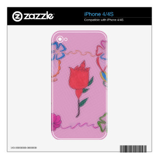 Vinyl Device Protection Skin Skins For iPhone 4S