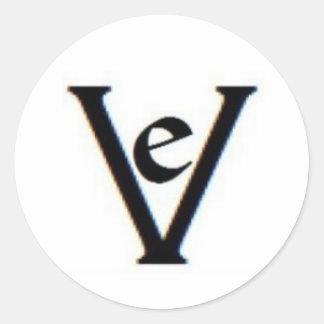 """Vinyl Epitaph """"Ve"""" sticker"""