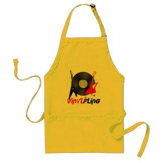 Vinyl Fling Apron