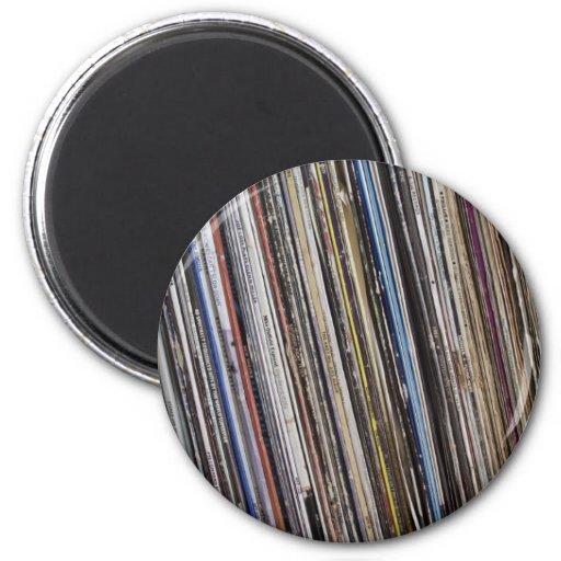 Vinyl Fridge Magnet