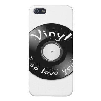 VINYL - I so love you! Case For iPhone SE/5/5s