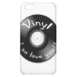 VINYL - I so love you iPhone 5C Covers