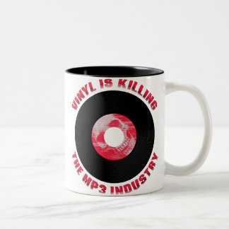 Vinyl is Killing the MP3 Industry Mug
