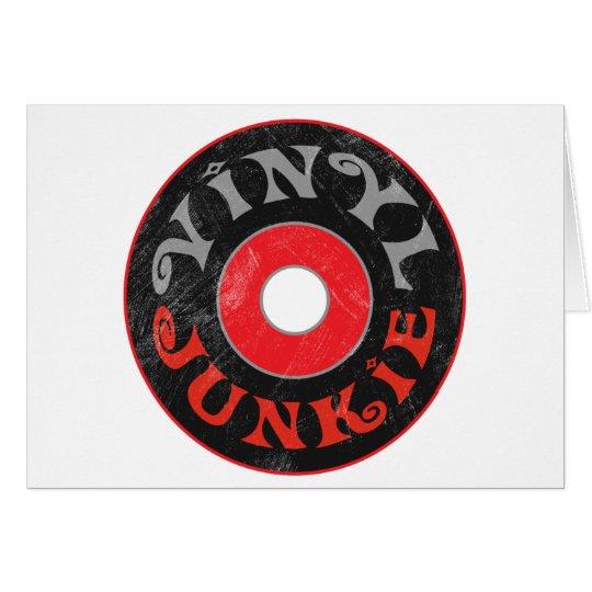 Vinyl Junkie Card