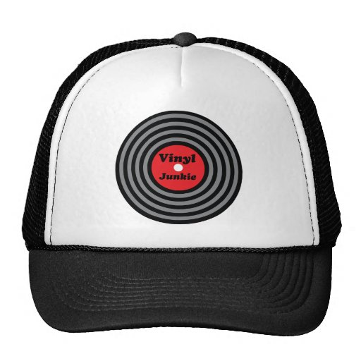 Vinyl Junkie Hats