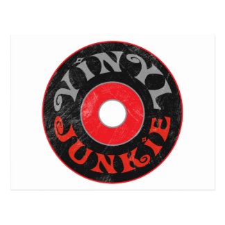 Vinyl Junkie Post Cards