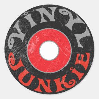 Vinyl Junkie Sticker