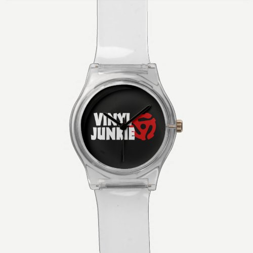Vinyl Junkie Watch