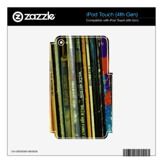 Vinyl Life 1 iPod Touch 4G Skin