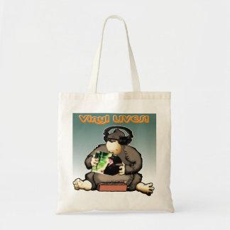 Vinyl LIVES! Budget Tote Bag