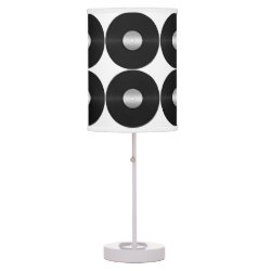 Vinyl-Look LP Record Desk Lamp