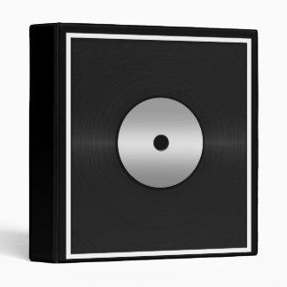 Vinyl LP Record Background Binder