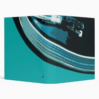 Vinyl Music Turntable Binder