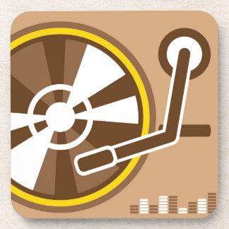 Vinyl Player vector Coaster