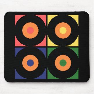 Vinyl Pop Art Mouse Pad