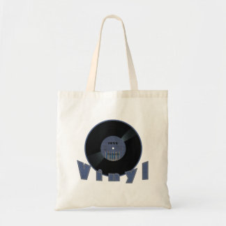 VINYL Record 1955 Label Tote Bag