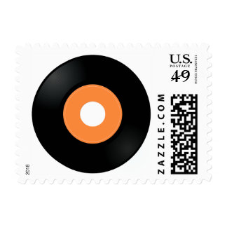 VINYL RECORD 45.png Postage