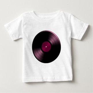 Vinyl Record Album in Pink Baby T-Shirt