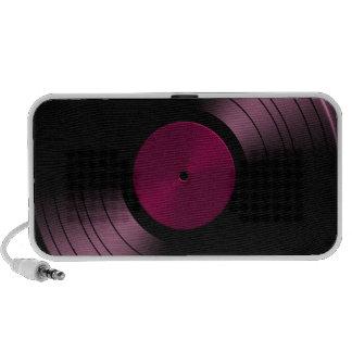 Vinyl Record Album in Pink Mini Speaker
