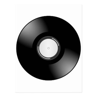 Vinyl Record by Chillee Wilson Postcard