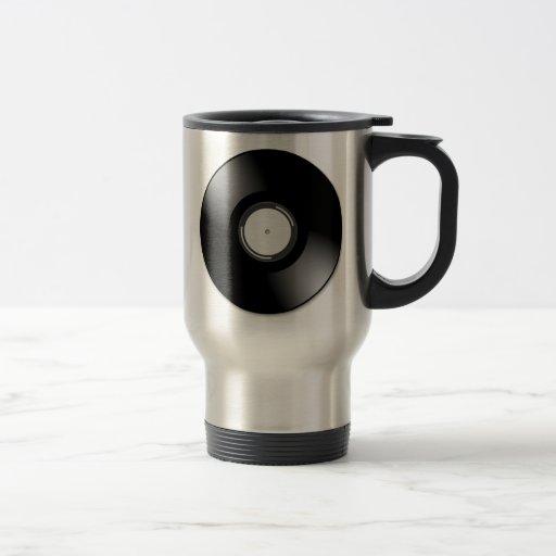 Vinyl Record Coffee Mug
