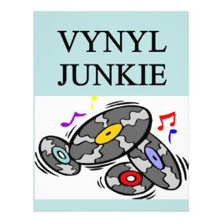 VINYL record collector Flyer