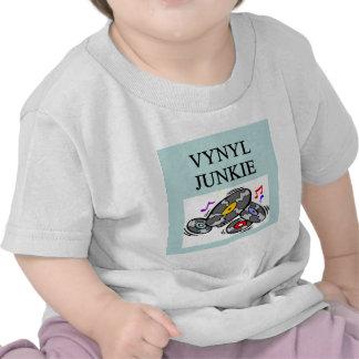 VINYL record collector Tshirt