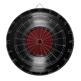 vinyl record dart boards