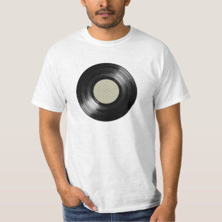 vinyl record for music-lovers tee shirt