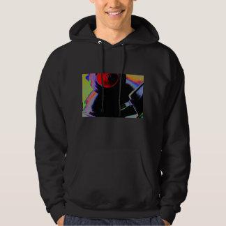 Vinyl record in colors hoodie