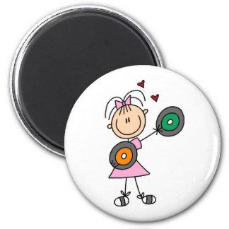 Vinyl Record Lover Magnet