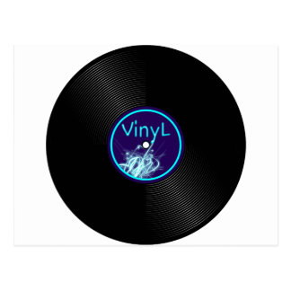 Vinyl Record LP Album 33 Postcard