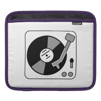 Vinyl Record Player iPad Sleeve