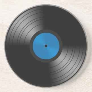 Vinyl Record Sandstone Coaster