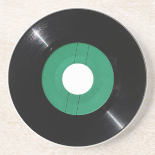 Vinyl Drink Amp Beverage Coasters Zazzle