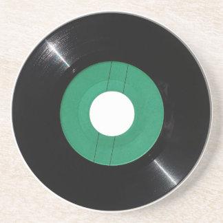 Vinyl record transparent PNG Coaster