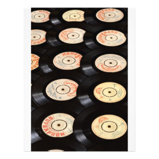 Vinyl Records Background Flyer