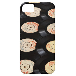 Vinyl Records Background iPhone SE/5/5s Case