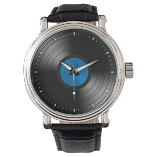 Vinyl Records Wristwatch