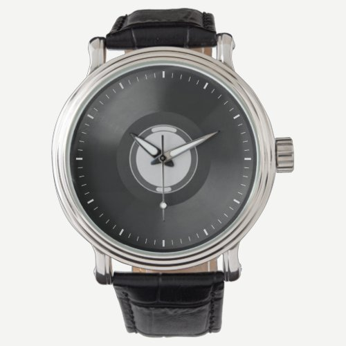 Vinyl Records Wristwatch
